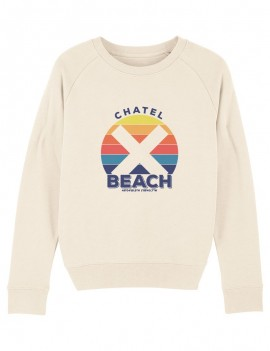 "Sweat Femme Col Rond ""Sunset"""