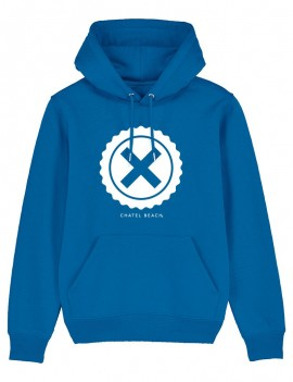 "Sweat Unisexe ""Big Logo"" Blanc"