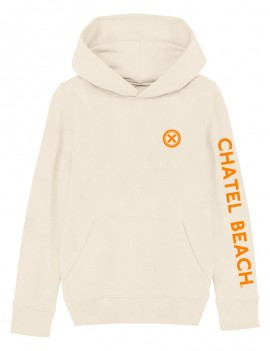 "Sweat Enfant ""Signature"" Orange"