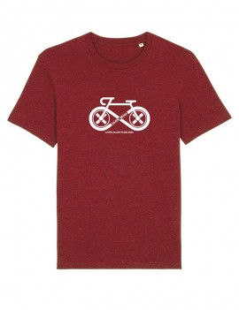 "T-Shirt Unisexe ""Cycling"" Blanc"