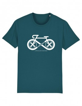 "Tee-Shirt Unisexe ""White Cycling"""